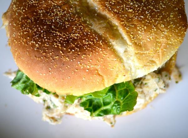 Slow Cooker Chicken Caesar Sandwiches from Rachel Schultz