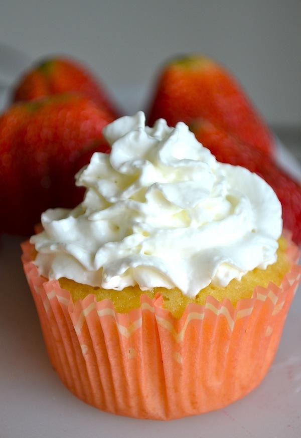 Strawberry Shortcake Cupcakes from Rachel Schultz