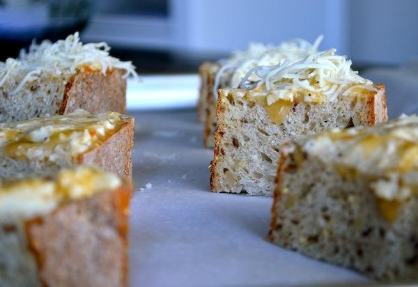 Bubbly Cheese Garlic Bread from Rachel Schultz