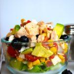 BLUEBERRY AVOCADO CHOPPED SALAD
