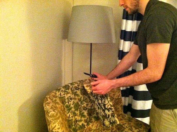 Acquiring an Arm Chair from Rachel Schutlz