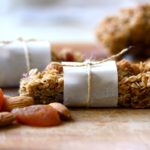 APRICOT & WALNUT GRANOLA BARS