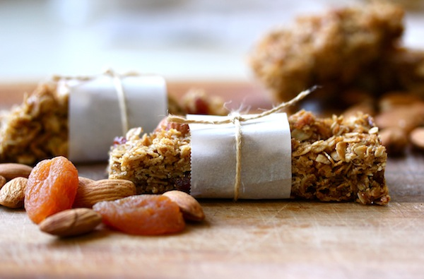 Apricot & Walnut Granola Bars from Rachel Schultz