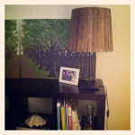 Paint Stick Lamp Shade
