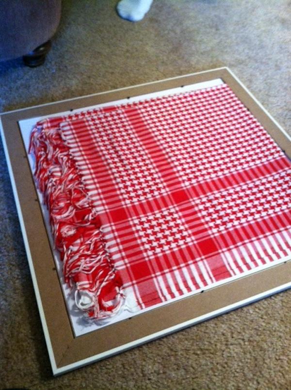 Turning Fabric into Art from Rachel Schultz