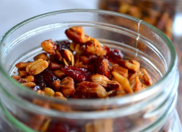 Coconut & Cranberry Pecan Granola from Rachel Schultz
