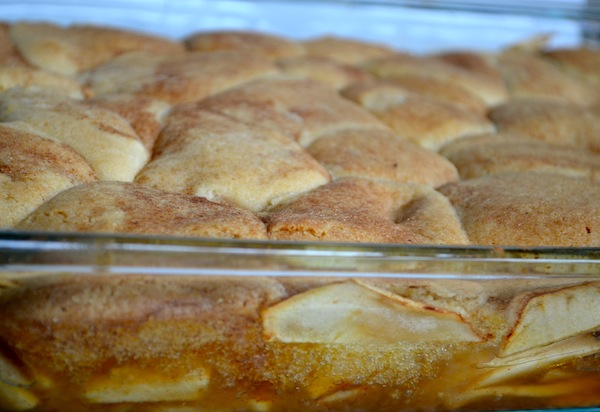 Apple Snickerdoodle Cobbler from Rachel Schultz