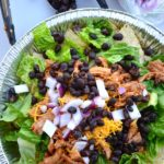 ROOT BEER PORK TACO SALADS