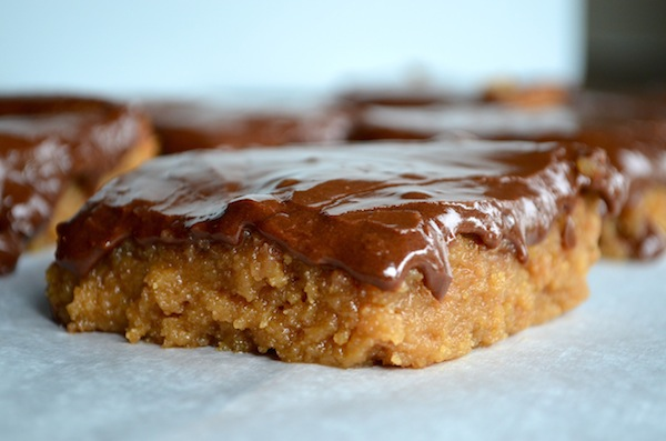 Peanut Butter Blondies from Rachel Schultz