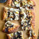 PEACH & BALSAMIC GOAT CHEESE PIZZA
