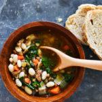 Super Fast Kale & Sausage Soup