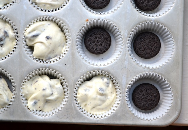 Cookies & Cream Cheesecake Cupcakes from Rachel Schultz