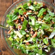 Honey and Lemon Bean Salad from Rachel Schultz