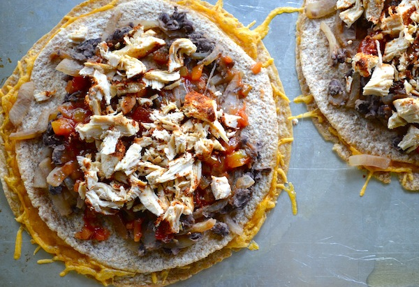 Mexican Black Bean Pizza from Rachel Schultz