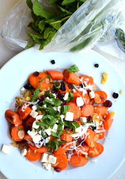 Mint & Coconut Carrot Salad from Rachel Schultz