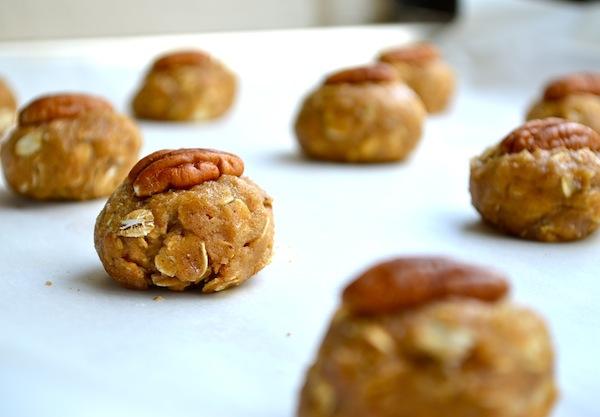 Peanut Butter & Pecan Oatmeal Sandwiches from Rachel Schultz