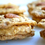 PEANUT BUTTER & PECAN OATMEAL COOKIE SANDWICHES
