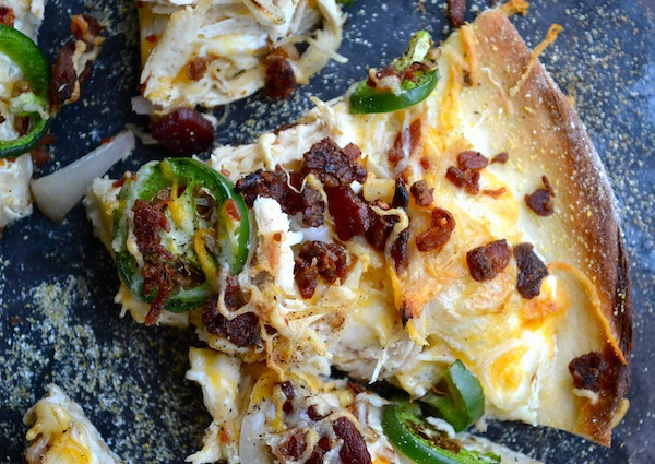 Jalapeno Popper Pizza from Rachel Schultz
