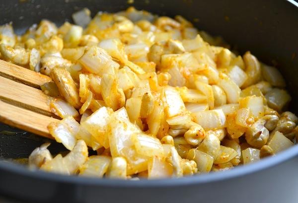 South Indian Papaya Chicken & Rice from Rachel Schultz