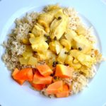 SOUTH INDIAN PAPAYA CHICKEN & RICE