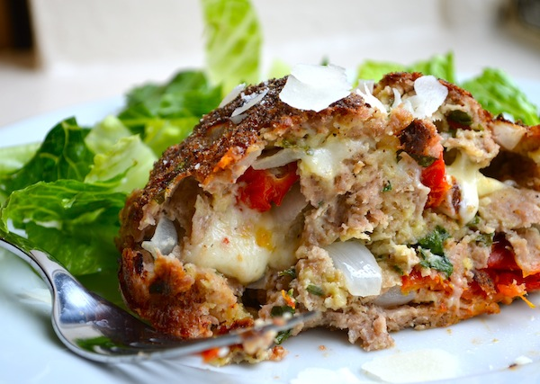Sun Dried Tomato Basil Meatloaf from Rachel Schultz