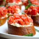 Whipped Feta Crostini