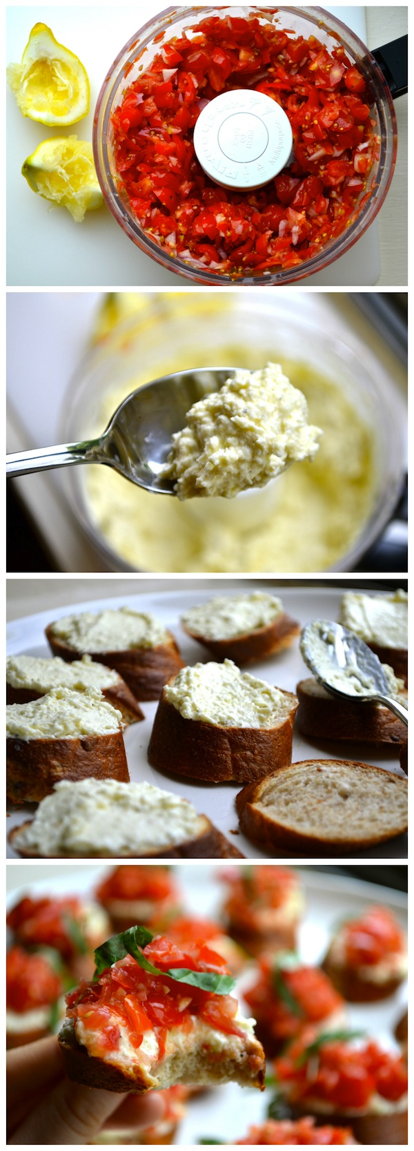 Whipped Feta Crostini from Rachel Schultz