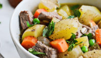 Apple Cider Beef & Barley Stew