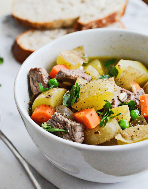 APPLE CIDER BEEF STEW from Rachel Schultz