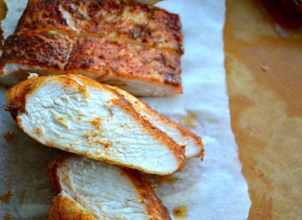 Brown Sugar Spiced Baked Chicken from Rachel Schultz