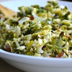 BRUSSELS SPROUT & KALE SALAD