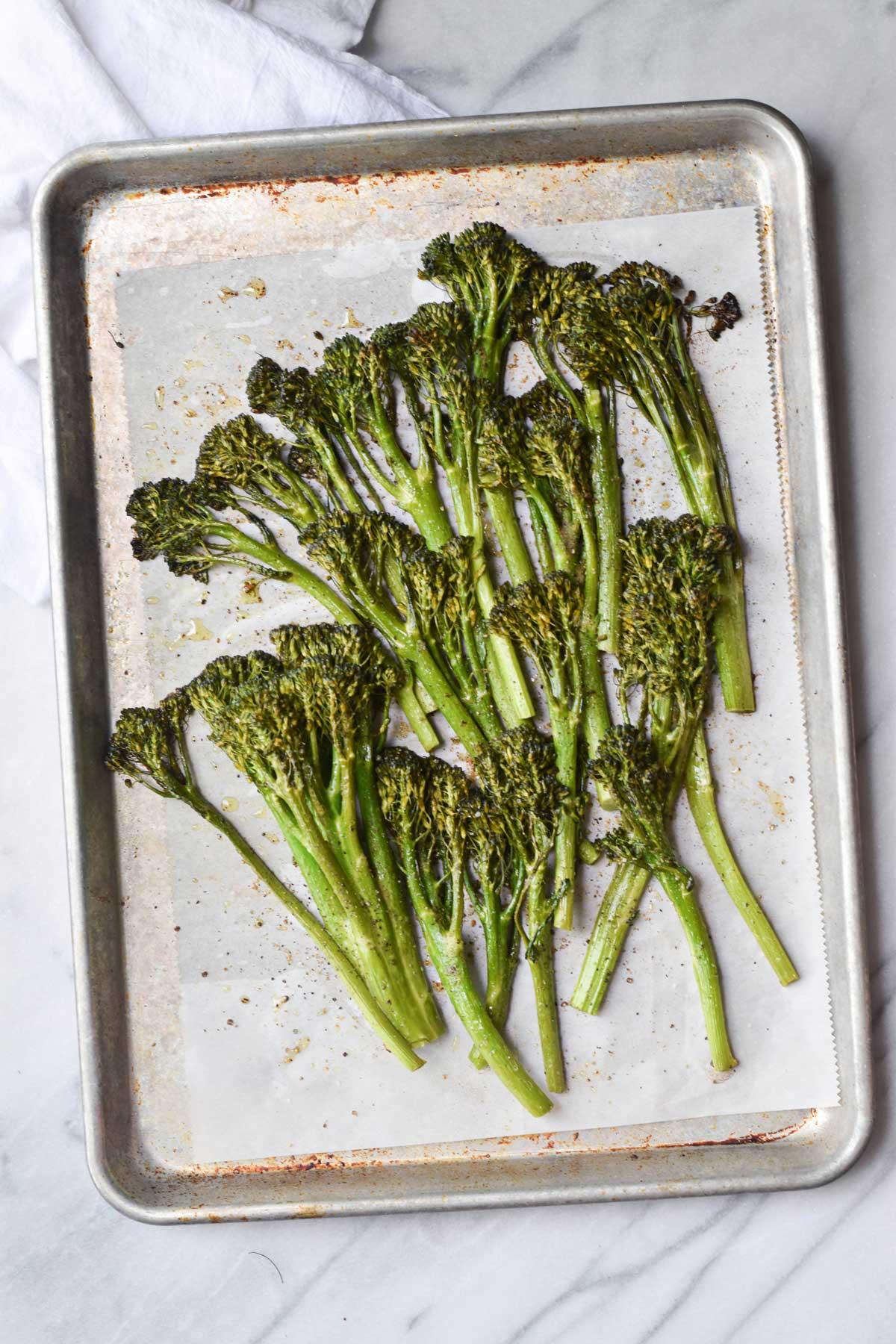 Crispy Baked Broccolini