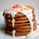 CARROT CAKE PANCAKES & CREAM CHEESE SYRUP