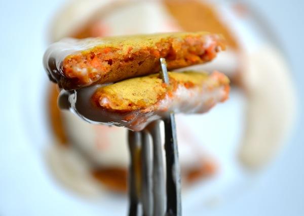 Rachel Schultz Carrot Cake Pancakes Cream Cheese Syrup