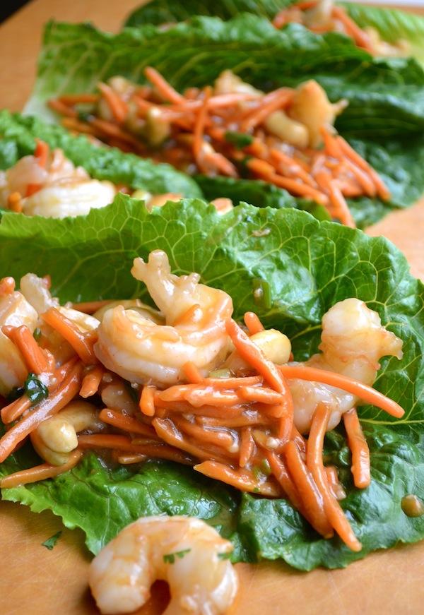Shrimp Lettuce Wraps from Rachel Schultz