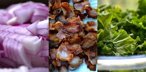 White Cheddar Bacon & Kale Mac 'n' Cheese