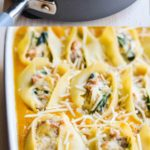 Butternut Squash & Sausage Stuffed Shells