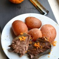 ORANGE BALSAMIC SLOW COOKER ROAST from Rachel Schultz