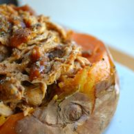 Pulled Pork Stuffed Sweet Potatoes 3