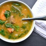 SWEET POTATO SOUP from Rachel Schultz