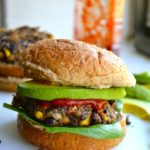 SPICY, MAN-APPROVED BLACK BEAN BURGERS