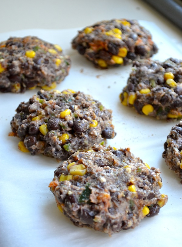 Spicy, Man-Approved Black Bean Burgers from Rachel Schultz