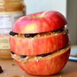 TRIPLE LAYERED APPLE BREAKFAST SANDWICH