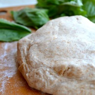 Whole Wheat Pizza Dough from Rachel Schultz