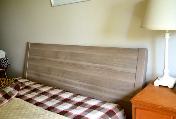 rachel schultz painting our ikea bed. Black Bedroom Furniture Sets. Home Design Ideas