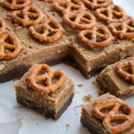 PEANUT BUTTER & CHOCOLATE PRETZEL FUDGE