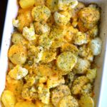 POTATO & CAULIFLOWER CHEDDAR BAKE