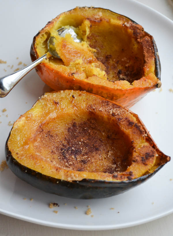 SWEET ROASTED ACORN SQUASH from Rachel Schultz-3