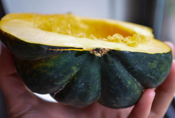 SWEET ROASTED ACORN SQUASH from Rachel Schultz