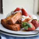 Angel Food Cake French Toast Sticks
